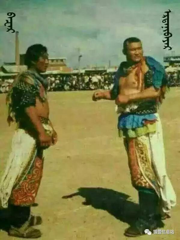 【蒙古图片】搏克老照片…… 第47张