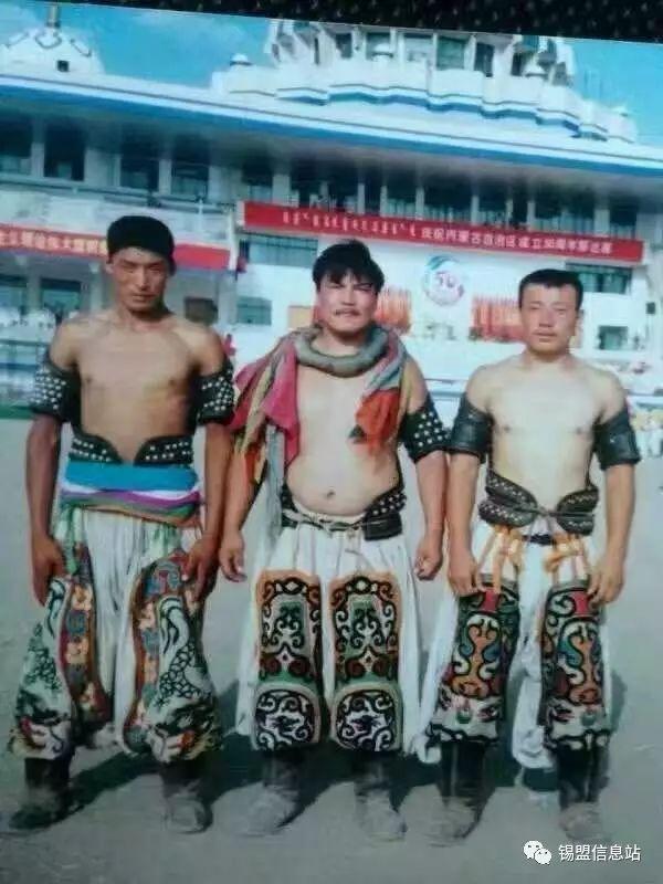 【蒙古图片】搏克老照片…… 第46张
