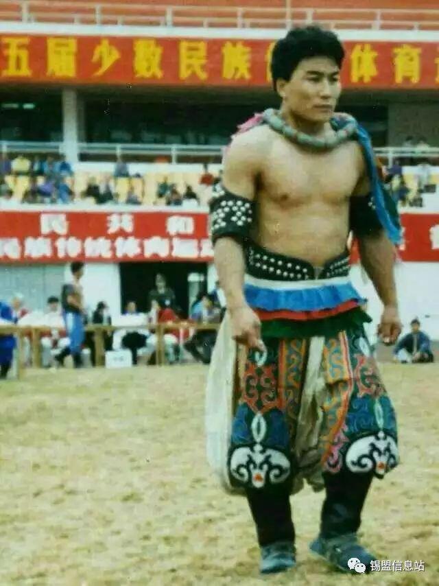 【蒙古图片】搏克老照片…… 第57张