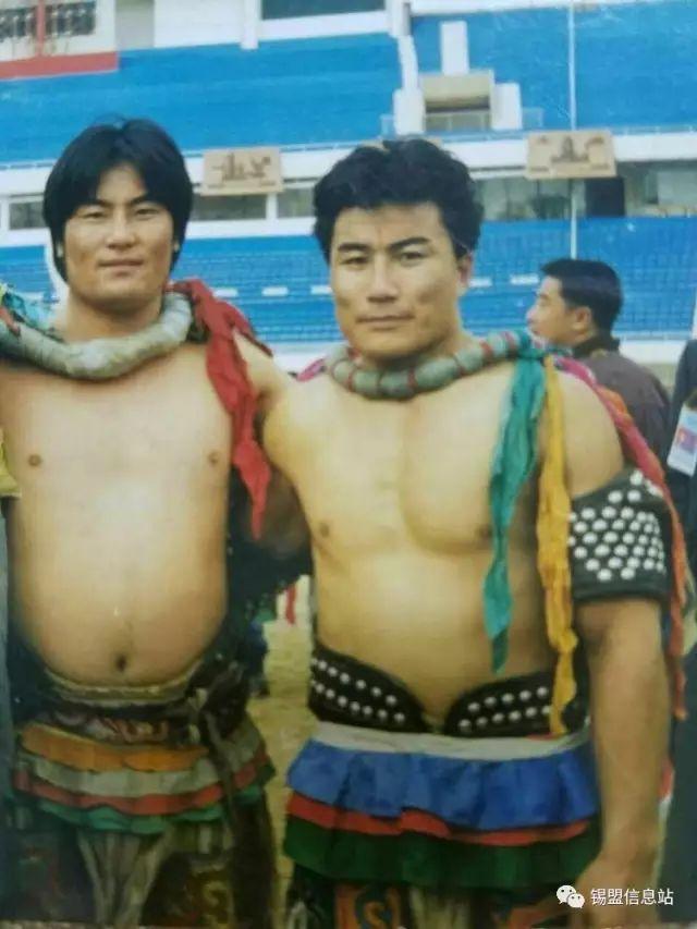 【蒙古图片】搏克老照片…… 第59张