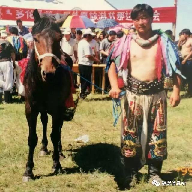 【蒙古图片】搏克老照片…… 第73张