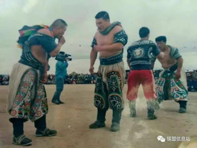 【蒙古图片】搏克老照片…… 第80张
