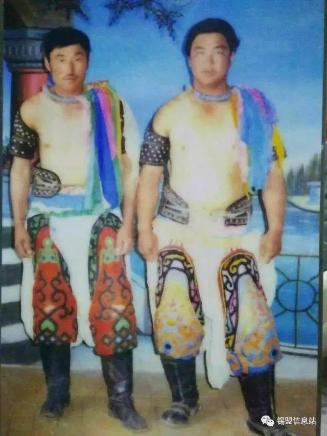 【蒙古图片】搏克老照片…… 第82张
