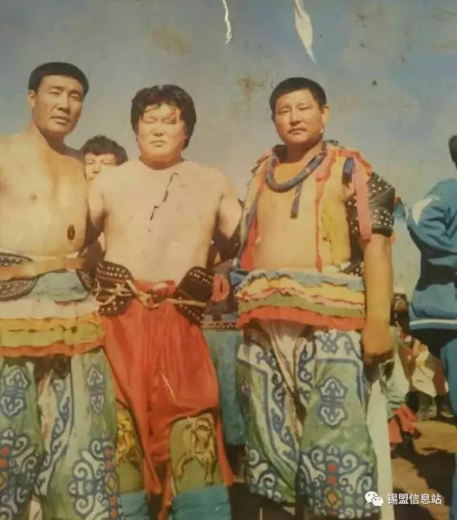 【蒙古图片】搏克老照片…… 第91张
