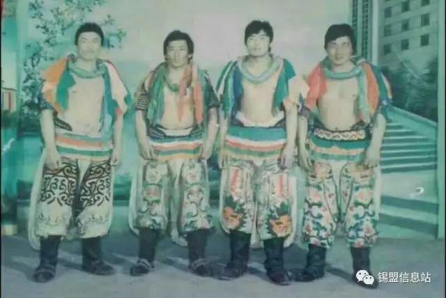 【蒙古图片】搏克老照片…… 第89张