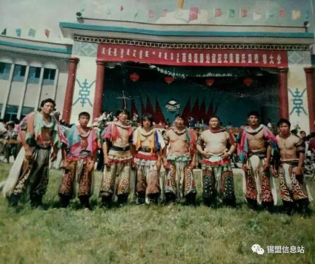 【蒙古图片】搏克老照片…… 第87张