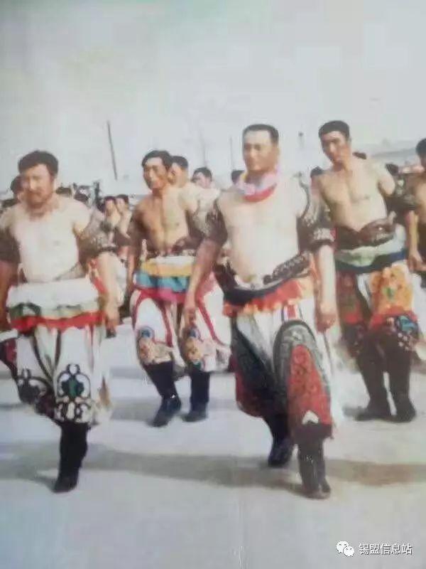 【蒙古图片】搏克老照片…… 第95张