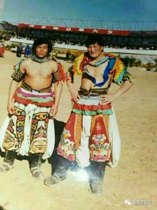 【蒙古图片】搏克老照片…… 第94张