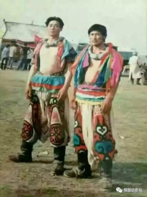 【蒙古图片】搏克老照片…… 第99张