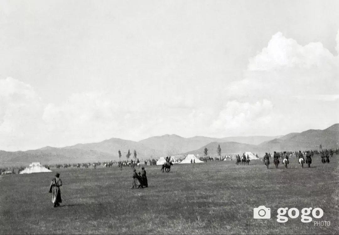 【印迹】定格19 世纪初蒙古人 —— 贵族的帐篷 第9张