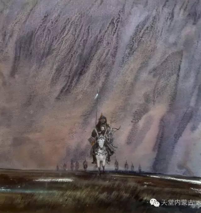 【美图】青年画家巴达日呼水彩作品欣赏 第8张