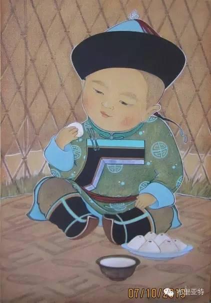 【ANU美图】布里亚特美女画家阿丽娜作品分享 第1张