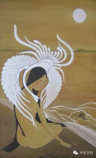 【ANU美图】布里亚特美女画家阿丽娜作品分享 第10张