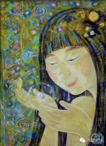 【ANU美图】布里亚特美女画家阿丽娜作品分享 第11张