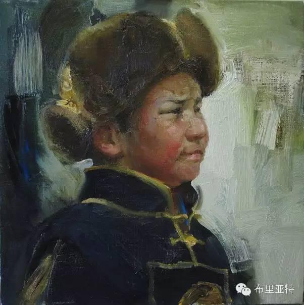 【ANU美图】青年蒙古画家敖特格·巴达玛油画作品分享 第2张