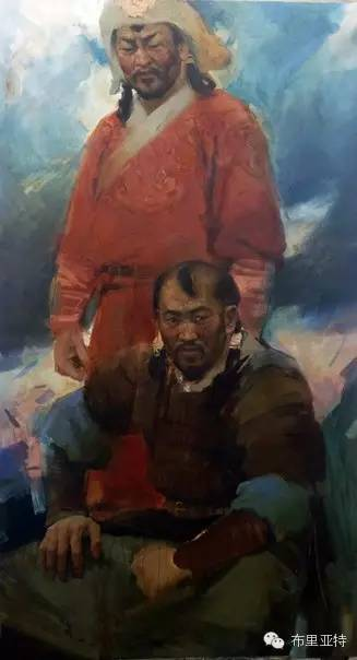 【ANU美图】青年蒙古画家敖特格·巴达玛油画作品分享 第10张