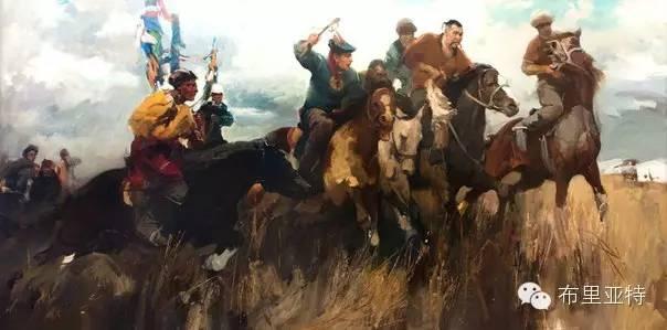 【ANU美图】青年蒙古画家敖特格·巴达玛油画作品分享 第14张