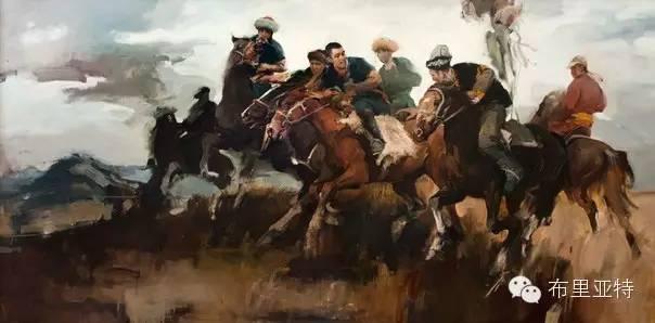 【ANU美图】青年蒙古画家敖特格·巴达玛油画作品分享 第15张