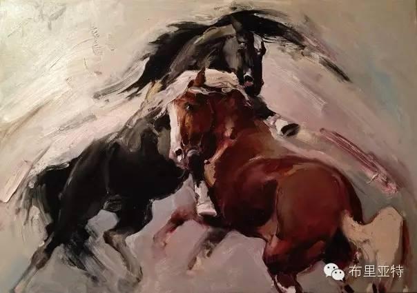 【ANU美图】青年蒙古画家敖特格·巴达玛油画作品分享 第18张
