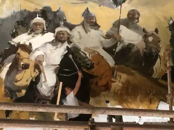 【ANU美图】青年蒙古画家敖特格·巴达玛油画作品分享 第20张