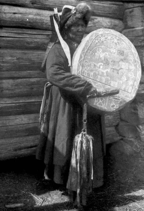 有关蒙古萨满 Boo的珍贵图像,实属罕见 第5张