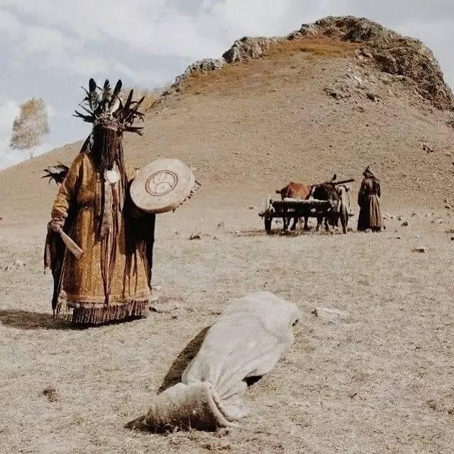 有关蒙古萨满 Boo的珍贵图像,实属罕见 第6张