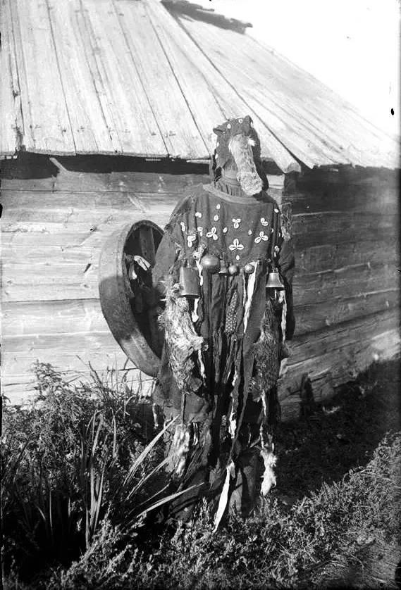 有关蒙古萨满 Boo的珍贵图像,实属罕见 第8张