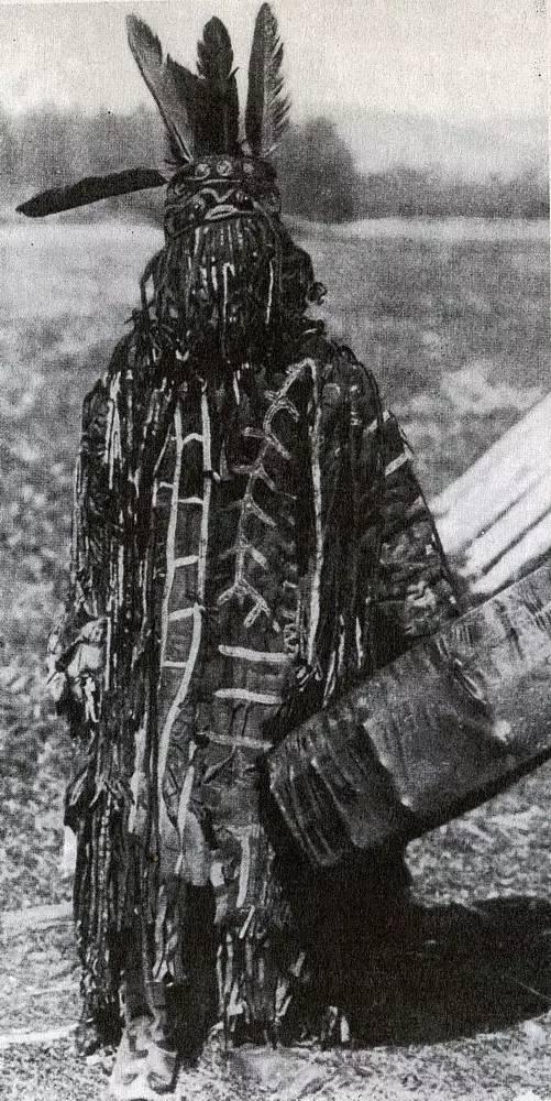 有关蒙古萨满 Boo的珍贵图像,实属罕见 第18张