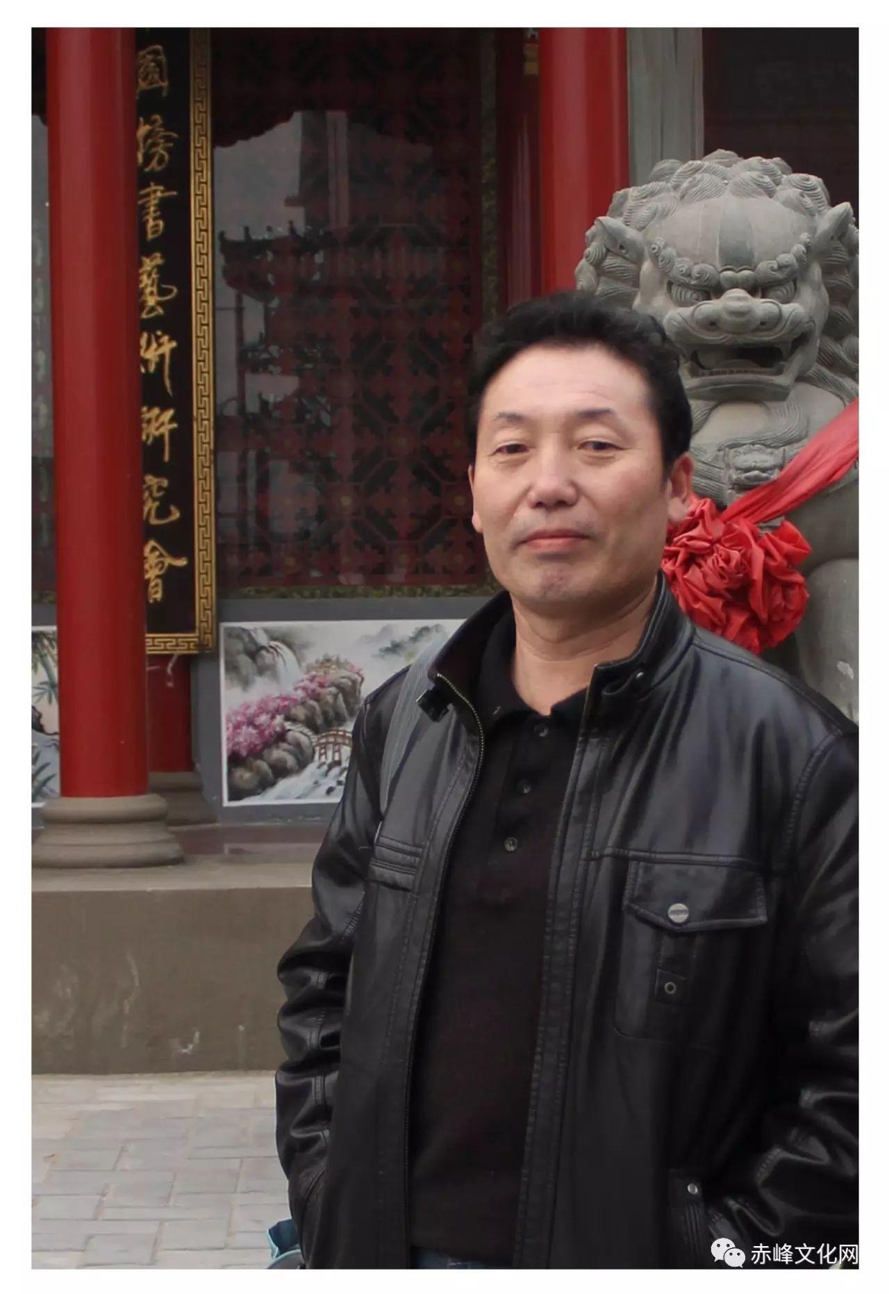 【文化赤峰】水墨丹青、栩栩如生——布和巴特尔国画展! 第2张