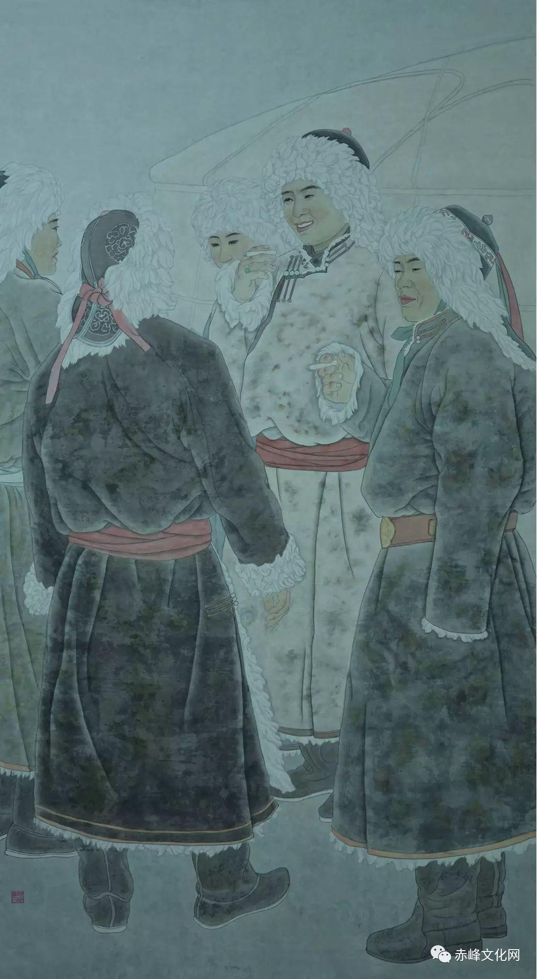 【文化赤峰】水墨丹青、栩栩如生——布和巴特尔国画展! 第6张