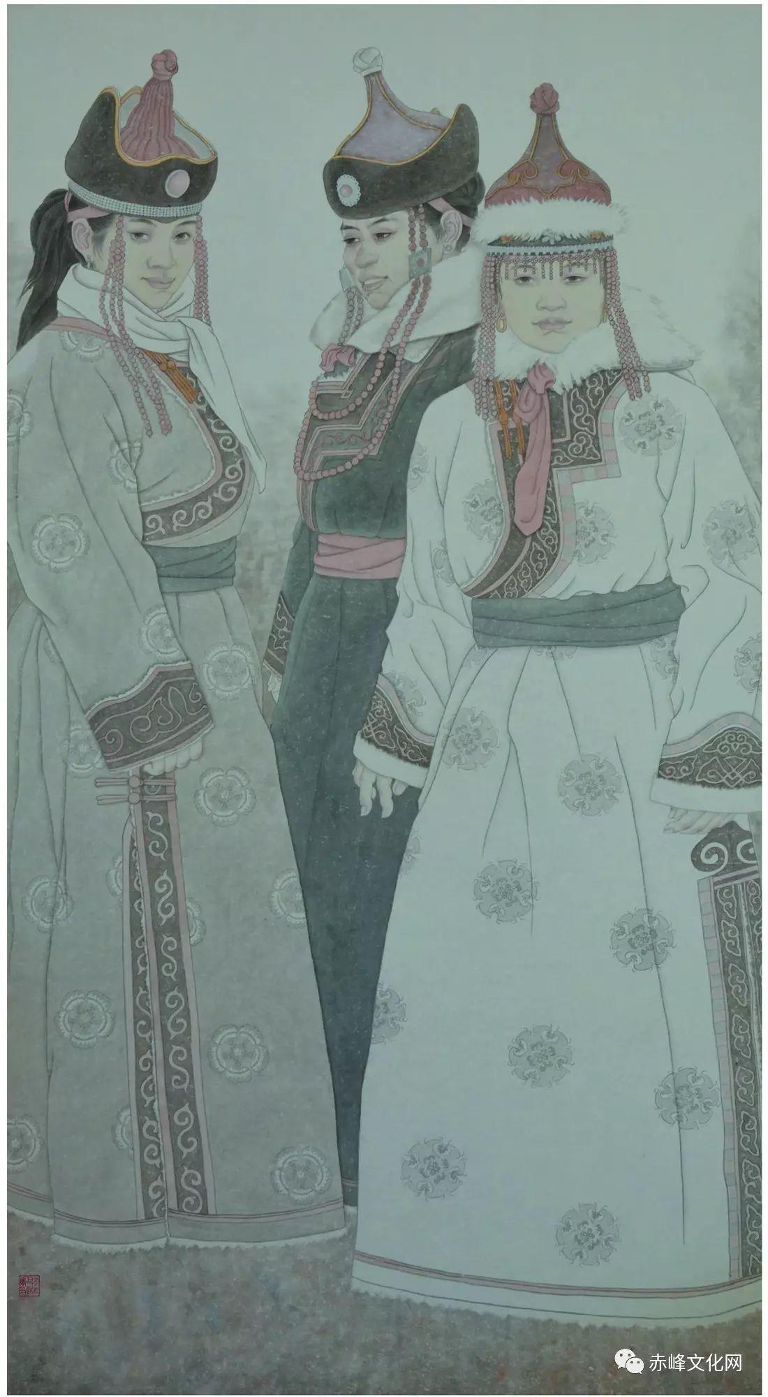 【文化赤峰】水墨丹青、栩栩如生——布和巴特尔国画展! 第8张