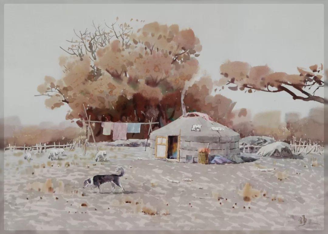 家乡美 | 高特木乐水彩作品欣赏 第11张