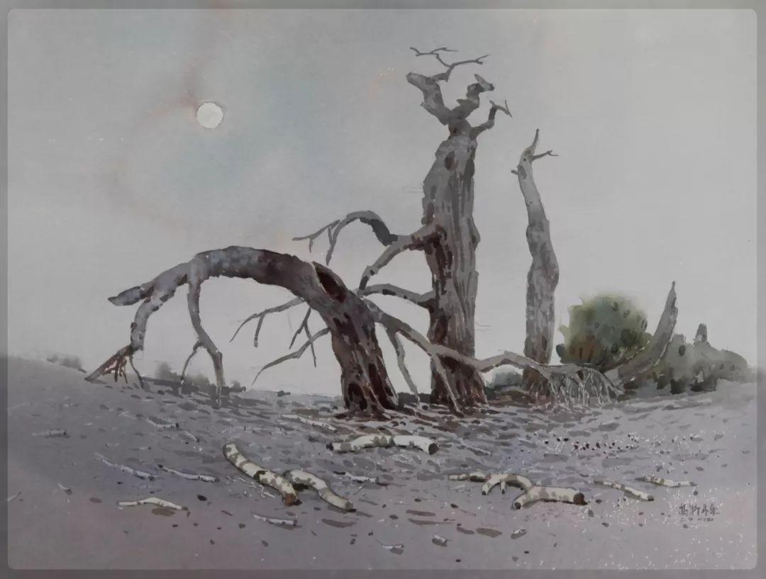 家乡美 | 高特木乐水彩作品欣赏 第8张