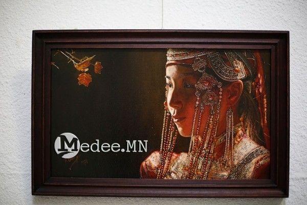 """蒙古国艺术家协会举办以""""秋""""为主题的艺术作品展欣赏 第8张"""