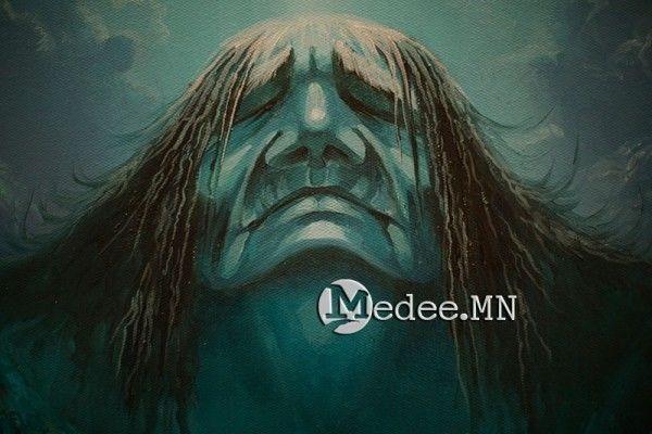 """蒙古国艺术家协会举办以""""秋""""为主题的艺术作品展欣赏 第14张"""
