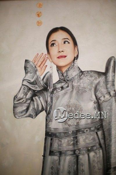 """蒙古国艺术家协会举办以""""秋""""为主题的艺术作品展欣赏 第17张"""