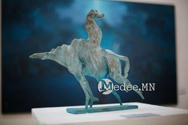 """蒙古国艺术家协会举办以""""秋""""为主题的艺术作品展欣赏 第26张"""
