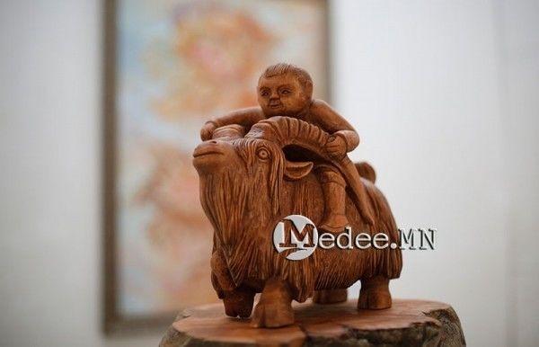 """蒙古国艺术家协会举办以""""秋""""为主题的艺术作品展欣赏 第31张"""
