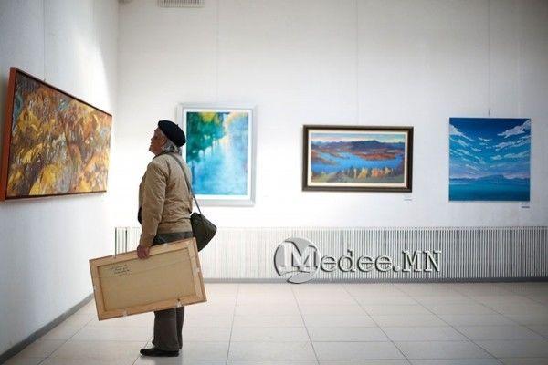 """蒙古国艺术家协会举办以""""秋""""为主题的艺术作品展欣赏 第33张"""