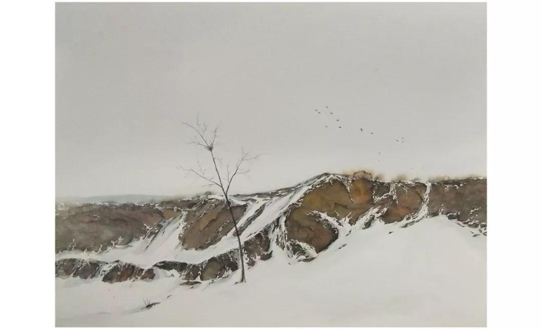 包布和水彩作品欣赏|内蒙古专栏 第2张