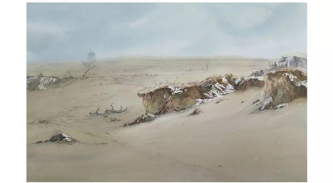 包布和水彩作品欣赏|内蒙古专栏 第10张