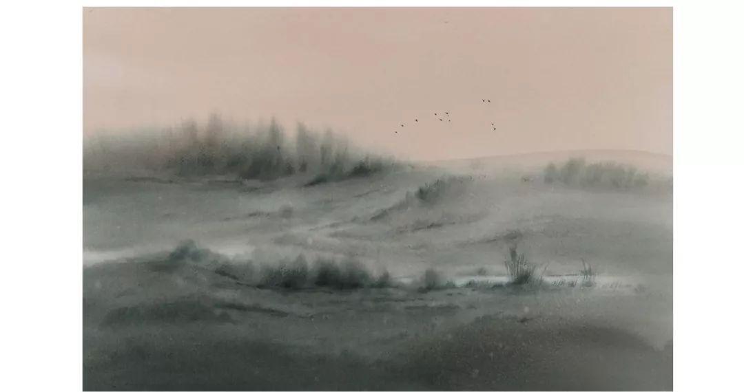包布和水彩作品欣赏|内蒙古专栏 第13张
