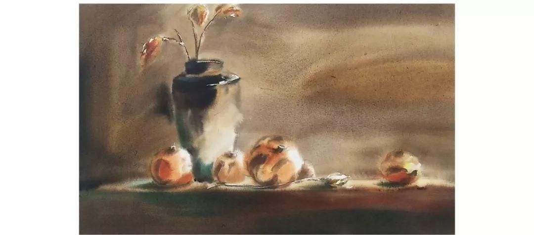 包布和水彩作品欣赏|内蒙古专栏 第17张