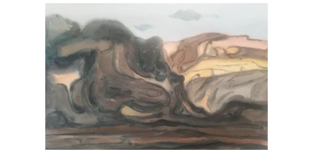 包布和水彩作品欣赏|内蒙古专栏 第29张