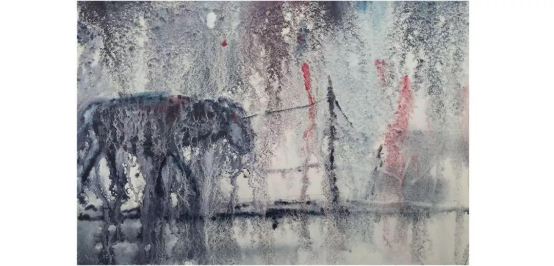 包布和水彩作品欣赏|内蒙古专栏 第39张