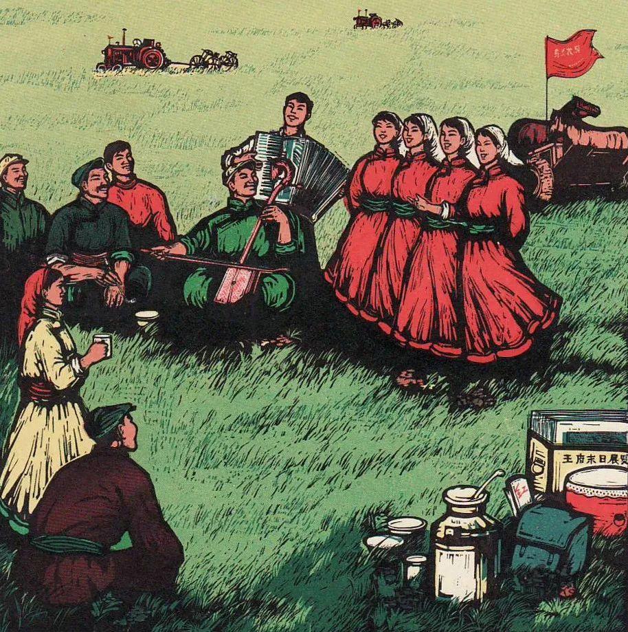 【哲里木盟版画选】 第9张 【哲里木盟版画选】 蒙古画廊