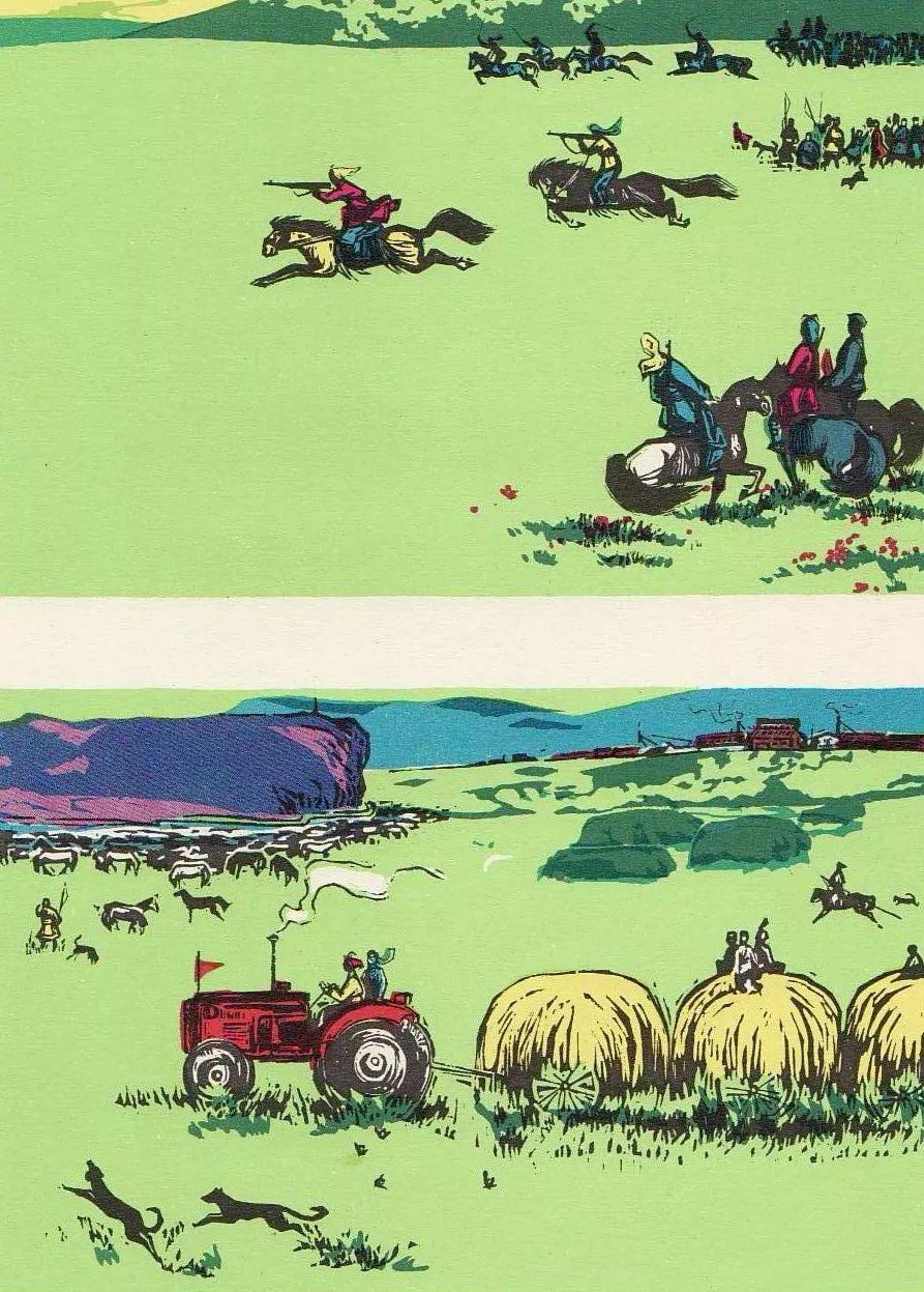 【哲里木盟版画选】 第16张 【哲里木盟版画选】 蒙古画廊