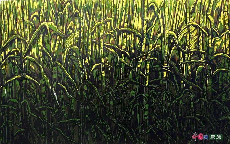 草原大地庆丰收⑦丨镌刻在版画中的丰收年(微展览) 第10张