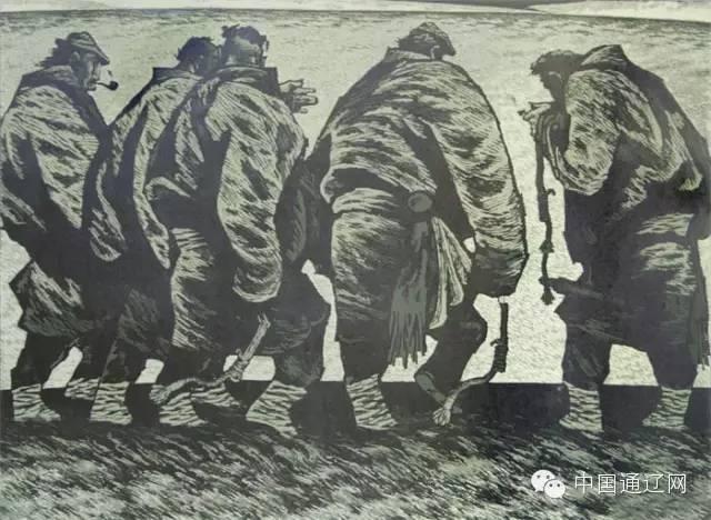 【出彩】科尔沁版画十杰之田宏图 第9张