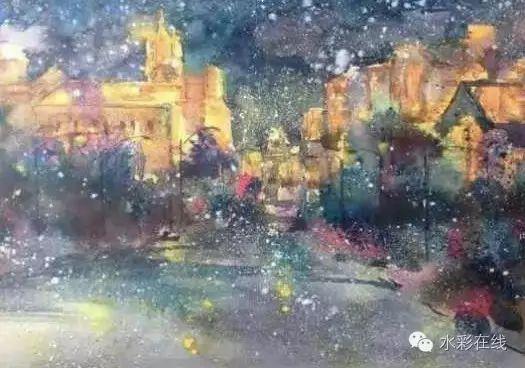 【水彩•风景】张文杰作品欣赏 第6张